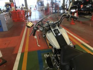 ハーレーのバイク継続車検