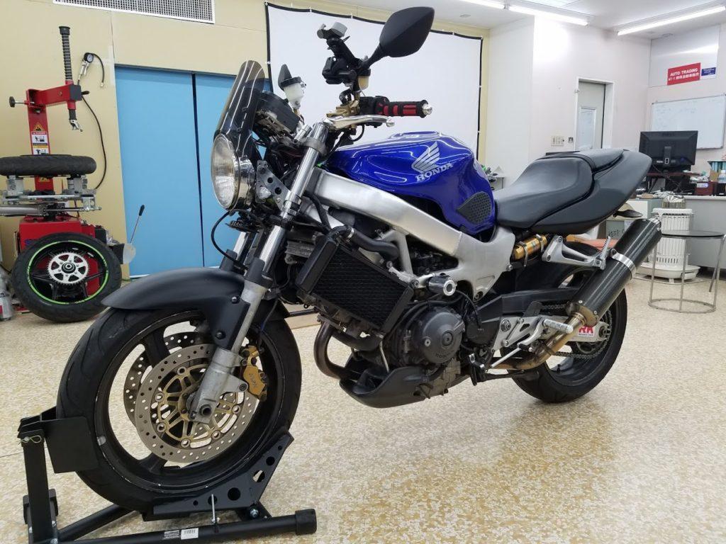 バイクの構造変更