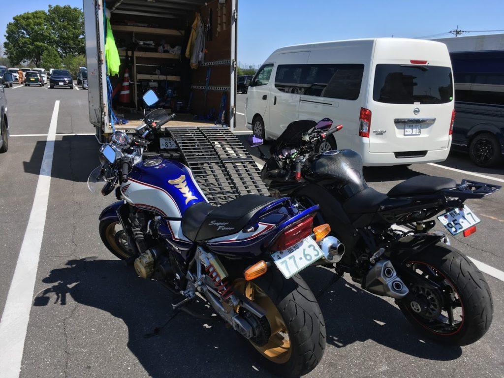 陸運局でバイク車検