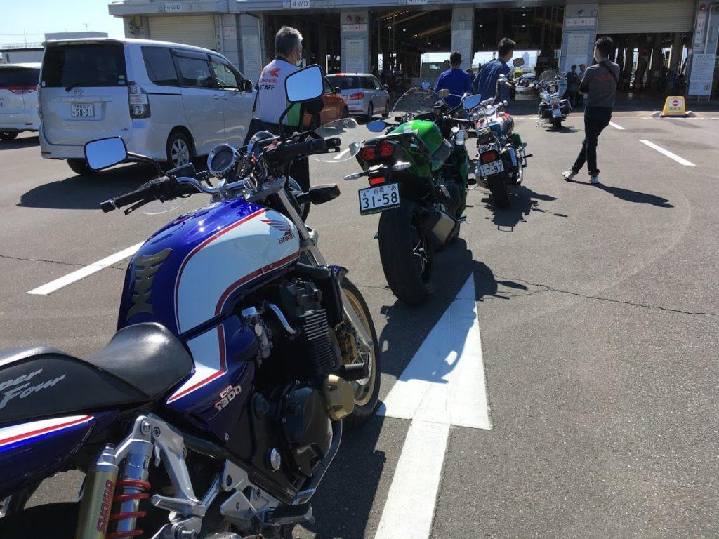 CB1300のバイク車検