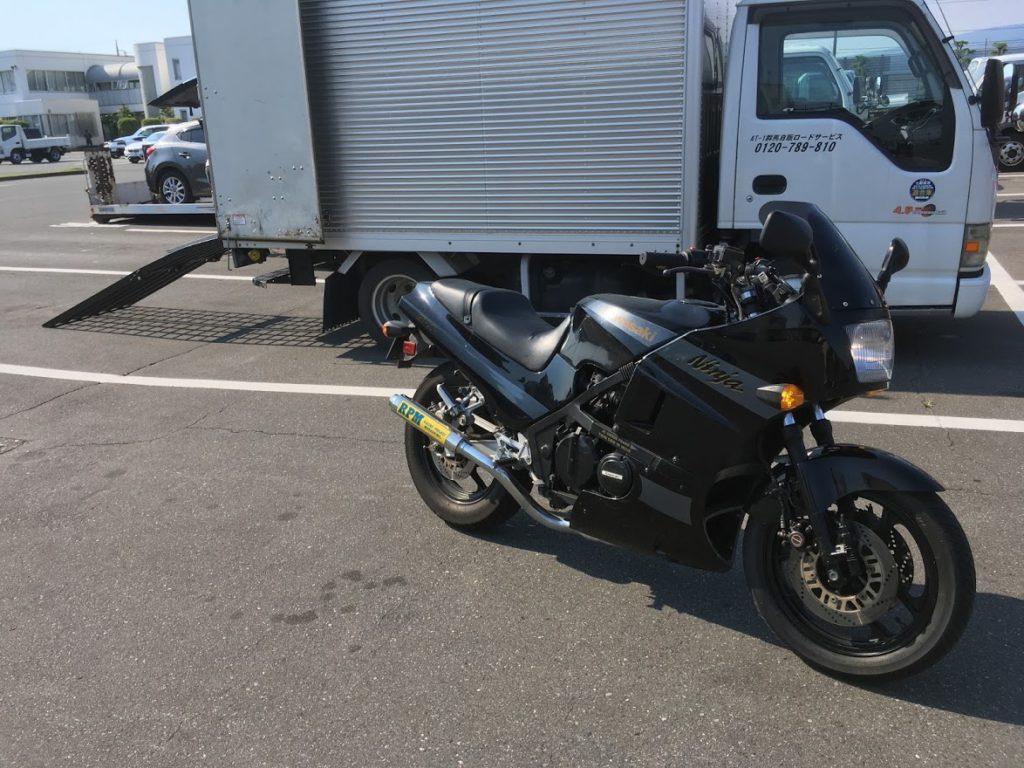 GPZ400Rのバイクユーザー車検代行