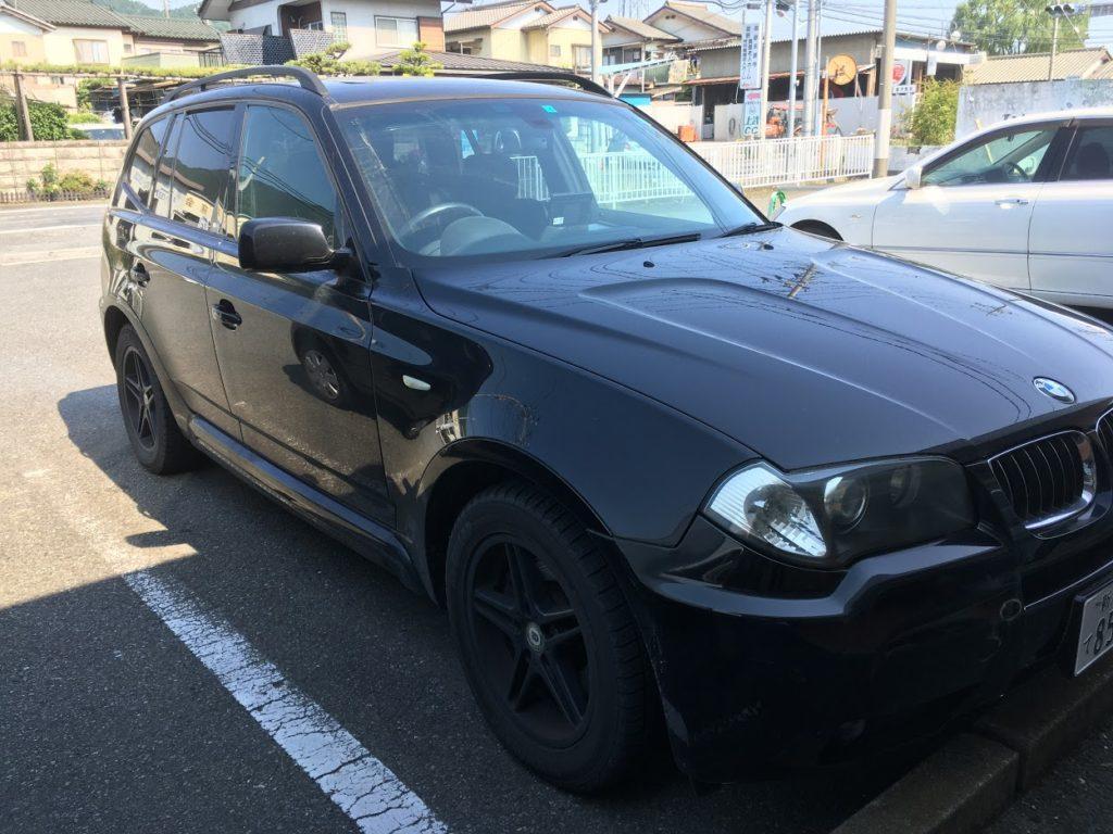 BMW・X3のユーザー車検代行