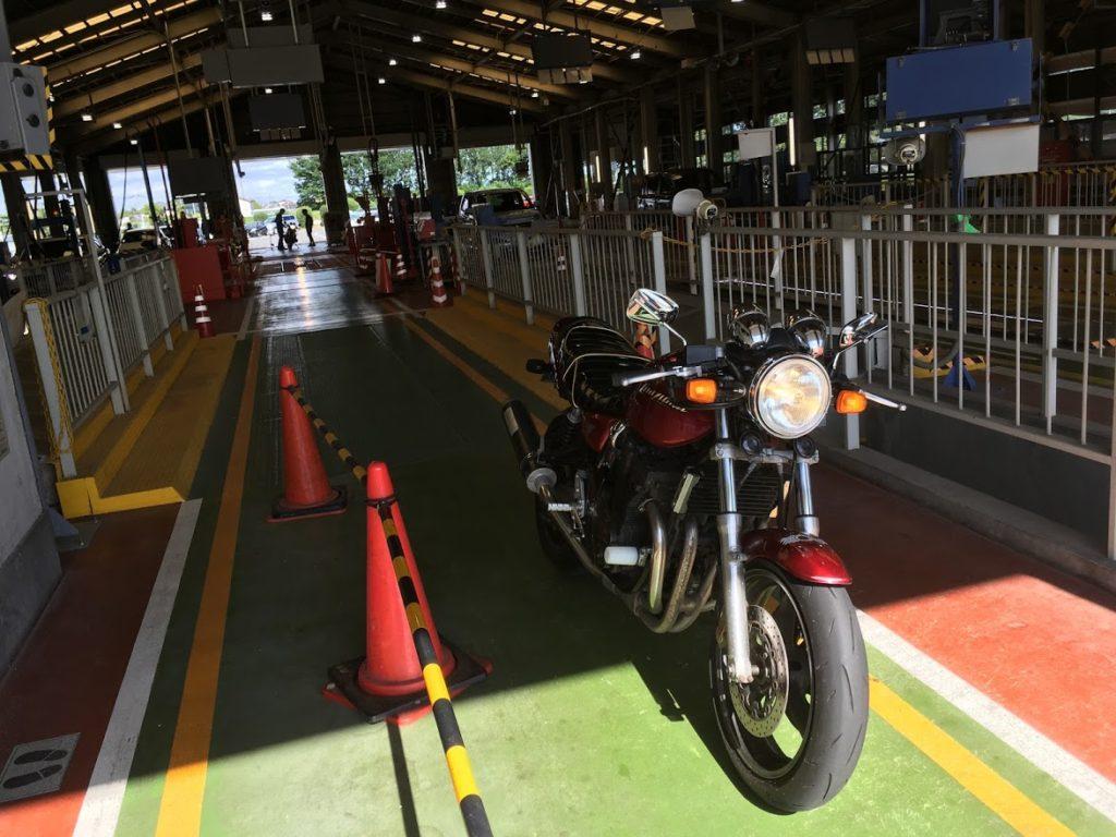 イナズマ400のバイク車検