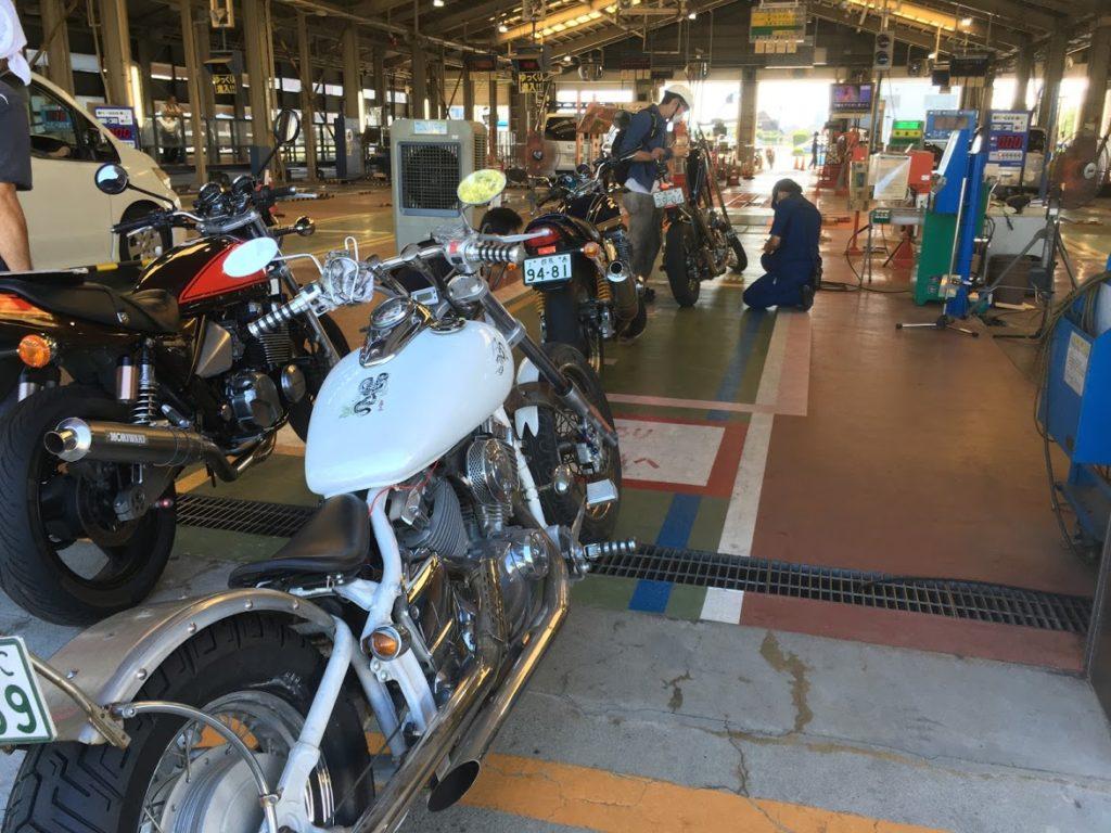 ドラッグスターのバイク車検