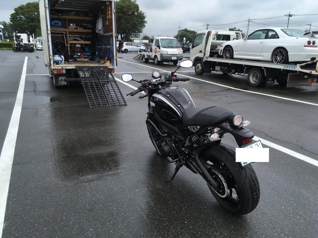 群馬の陸運局でバイクユーザー車検
