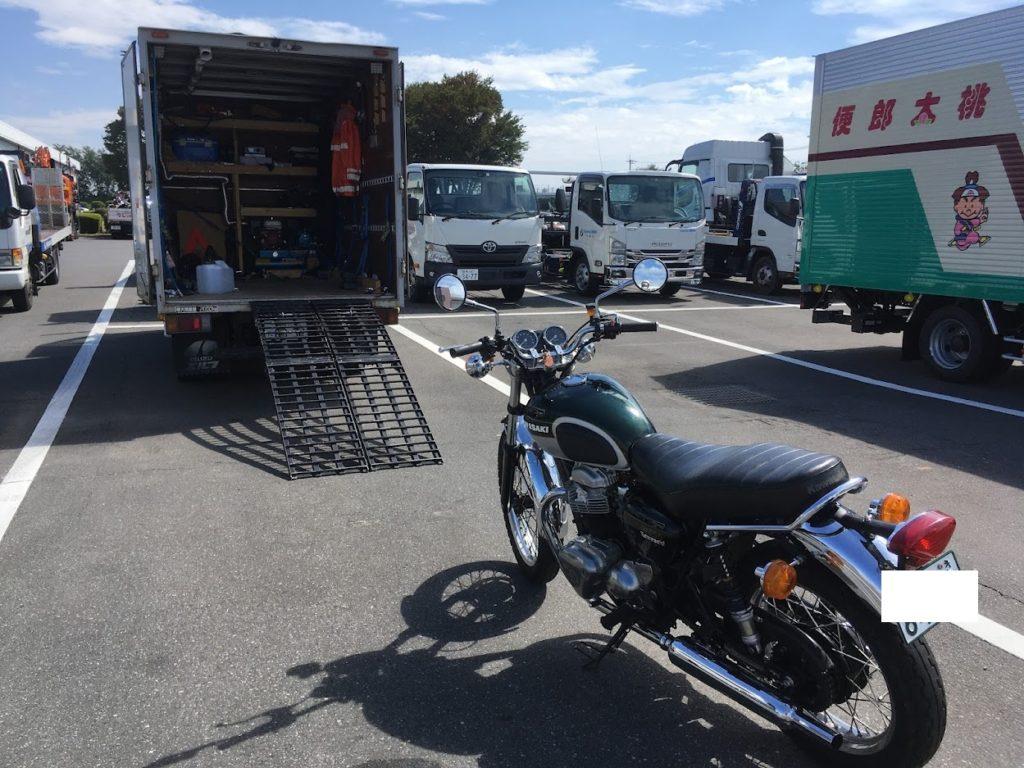 W650のバイクユーザー車検